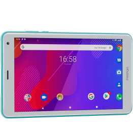 "Prestigio Q PRO,PMT4238_4G_D_MT,Single Micro-SIM, have call fuction, 8.0""WXGA(800*1280)IPS display, up to 1.4GHz quad core processor, android 9.0, 2GB RAM+16GB ROM, 0.3MP front camera+2MP rear camera, 5000mAh battery"