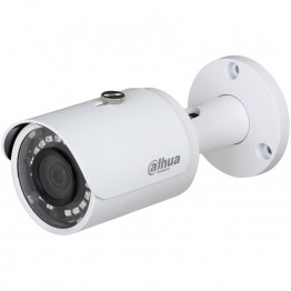 """Dahua IP camera 4MP Bullet, Day&Night, 1/3"""" CMOS, 2688×1520 Effective Pixels, 20fps@1520P, Focal Length 2.8mm, 104°, IR Distance up to 30m, 0.08Lux/F2.0 Colour, 0Lux/F2.0 IR on, IP67 outdoor installation, PoE, 4.3W"""