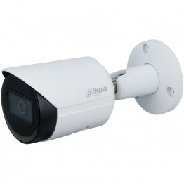 """Dahua IP camera 4MP, WDR bullet, 1/3"""" CMOS, 2688×1520 Effective Pixels, H.256, 20fps@4MP, Fixed lens, Focal Length 2.8mm, IR Distance - up to 30m, 0.008Lux (colour), 0Lux (IR on), micro SD card (up to 256GB), PoE, 12V DC 5W, IP67 outdoor."""