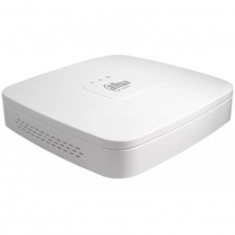 Dahua 4-channel NVR, FHD 2MP, 30fps, H.265/H.264, 1xSATA, 2xUSB, 1xVGA, 1xHDMI,1xAudio, support two-way talk, CMS/Web viewer, DC12V,2A, 3W, Without HDD