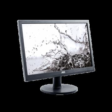 "Монитор AOC 19.5""LCD 1920x1080 16:9 250cd 20M:1 5ms VGA, DVI, Black, 3 years"