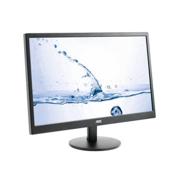 "Монитор AOC 23.6"", MVA, 1920x1080 16:9 250cd 50M:1 5ms, VGA HDMI Speakers, Black"