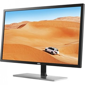 Монитор AOC 31.5, MVA, 2560x1440 5ms, DVI/HDMI/DP, Silver/Black