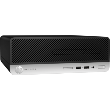 HP ProDesk  400G5 SFF Intel® Core™ i5-8500 Processor (3.00 GHz up to 4.10 GHz 6 cores 9 MB Cache ) 8 GB DDR4-2666 SDRAM