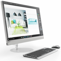 "Lenovo IdeaCentre AIO 520 27"" IPS QHD (2560x1440) Borderless Antiglare i5-8400T up to 3.3GHz HexaCore"