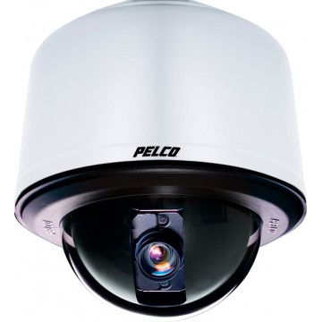 Pelco IP Camera Spectra® HD 1.3MP 18X Pendant Gray Smoke